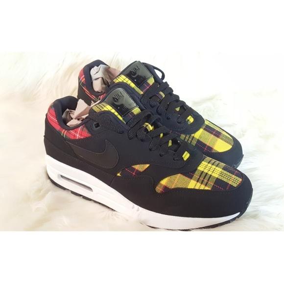 Nike Shoes | Air Max 1se Tartan | Poshmark